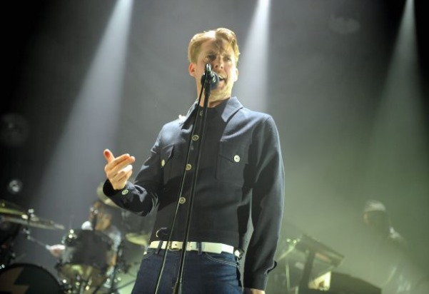 PERFORMING: Kaiser Chief's frontman Ricky Wilson