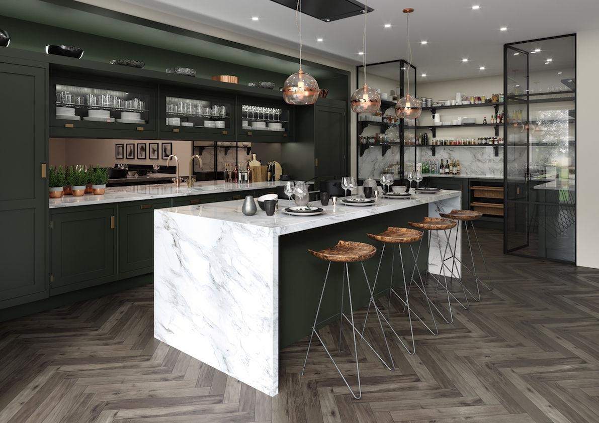 property: kitchen designers reveal 2019's key trends | the