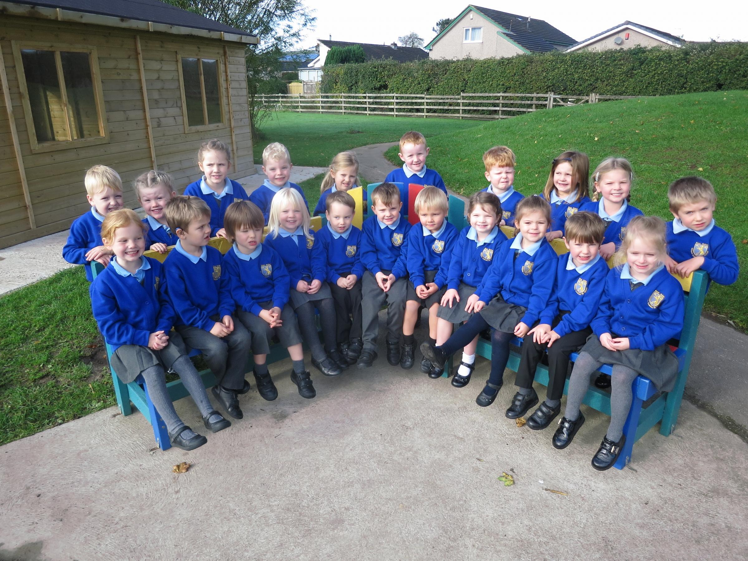 The new reception class at Wilson's Endowed CE School, Over Kellet