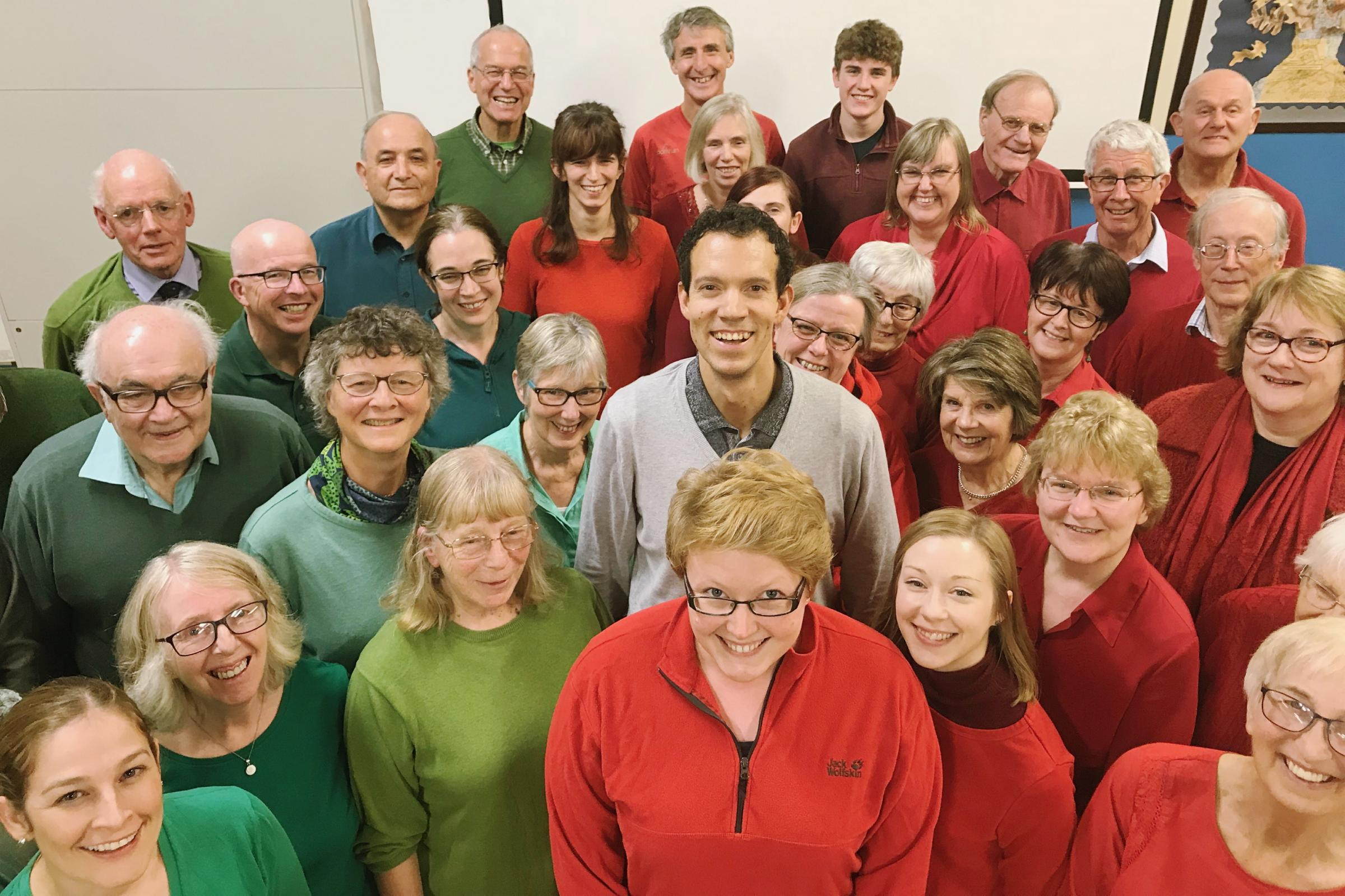 The highly regarded choristers of Furness Bach Choir are warming up ready for their next concert at Ulverston's St Mary's Parish Church, on Saturday, December 1