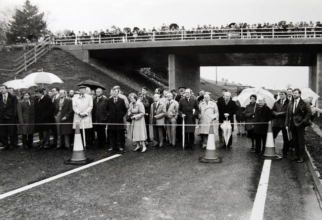 TODAY'S PHOTO FROM THE GAZETTE ARCHIVES: Staveley bypass opens in 1988