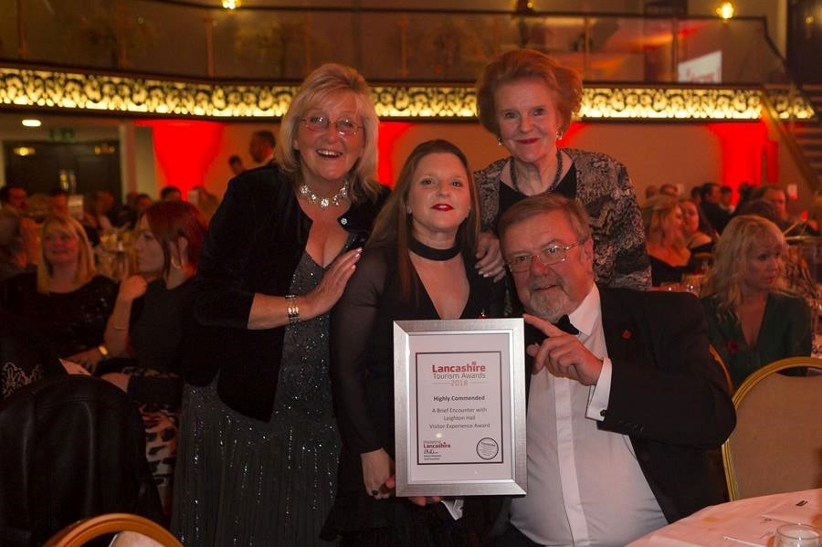 Leighton Hall Steams Back for Second Award