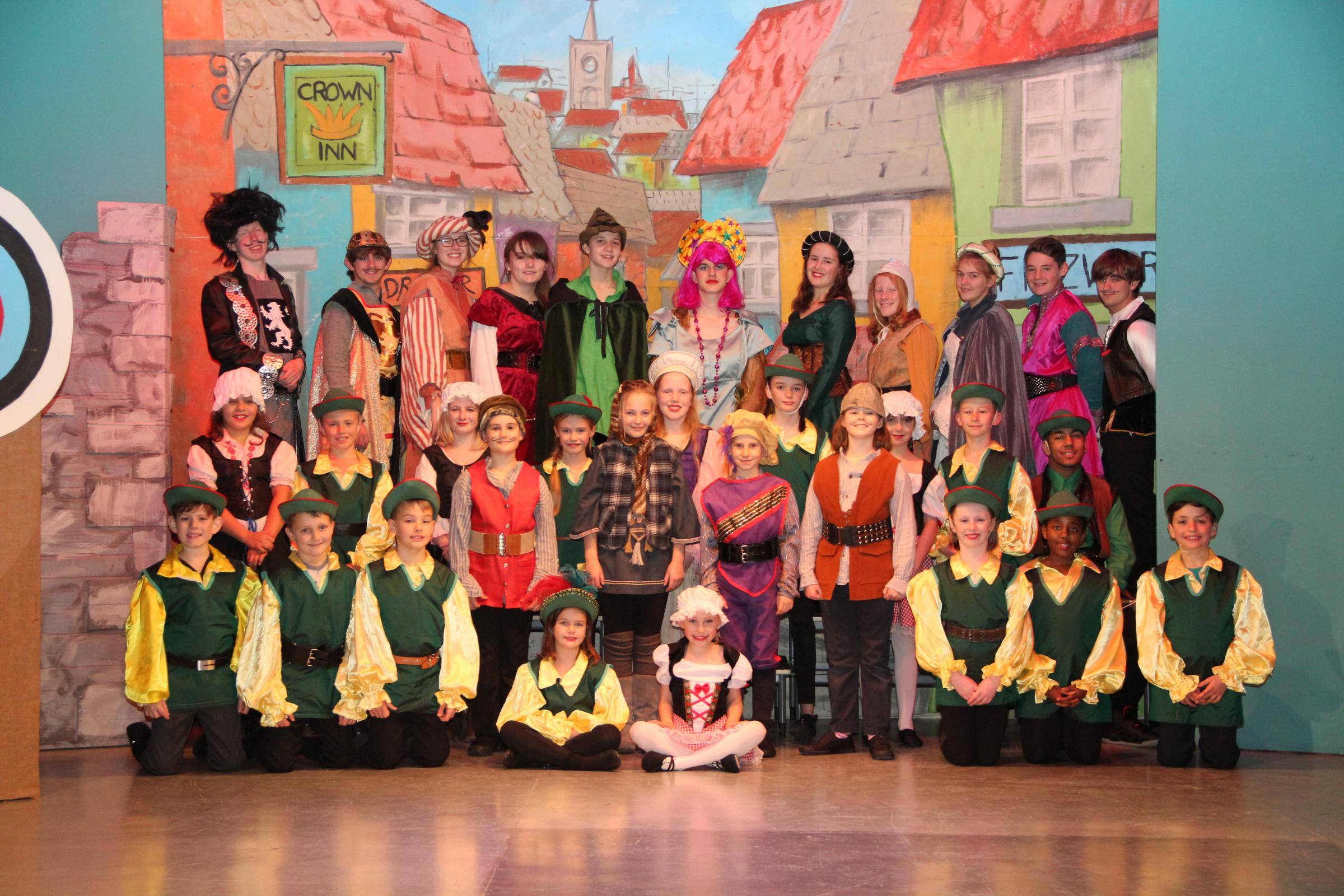 It's panto time in Grange-over-Sands
