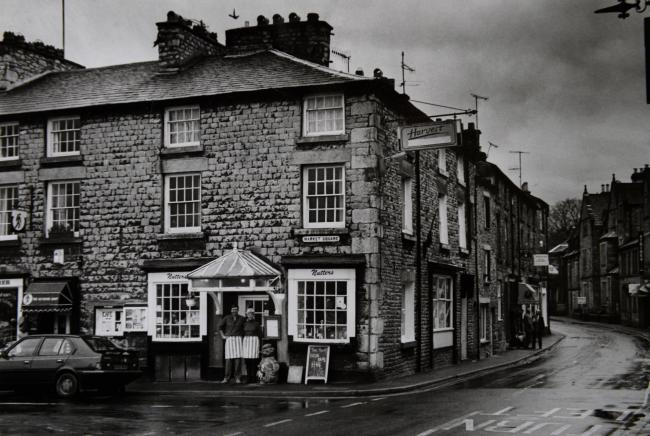 TODAY'S PHOTO FROM THE GAZETTE ARCHIVES: Nutters Cafe at Kirkby Lonsdale in 1993