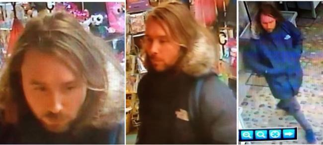 CCTV IMAGE: Police launch manhunt after robbery in Cartmel.