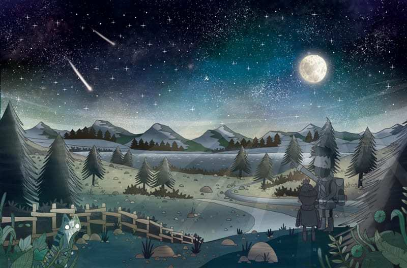 Skywatcher Stuart Atkinson has just has his ninth book published, A Cat's Guide To The Night Sky, featuring beautiful illustrations by artist Brendan Kearney