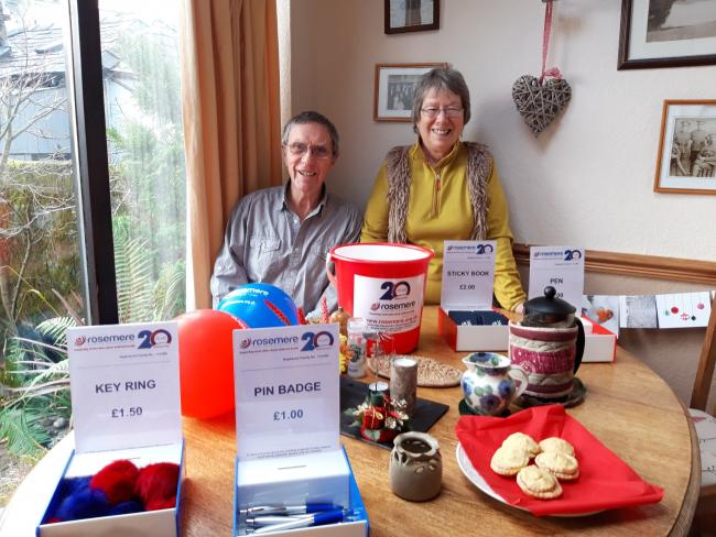 Bill and Jean Leece opened the doors of their Kendal home to raise money for Rosemere Cancer Foundation