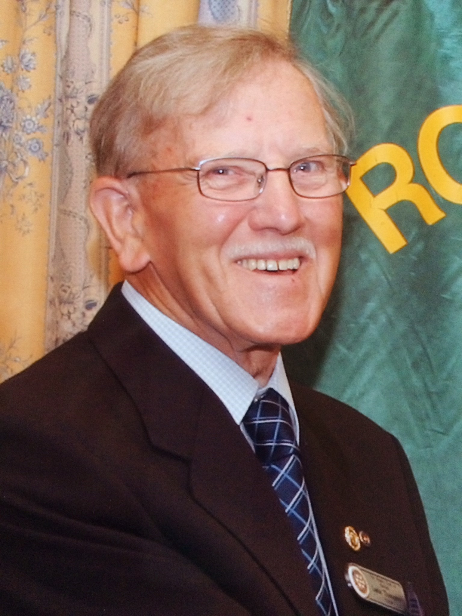 Leslie Thompson was a member of the Kendal Rotary Club