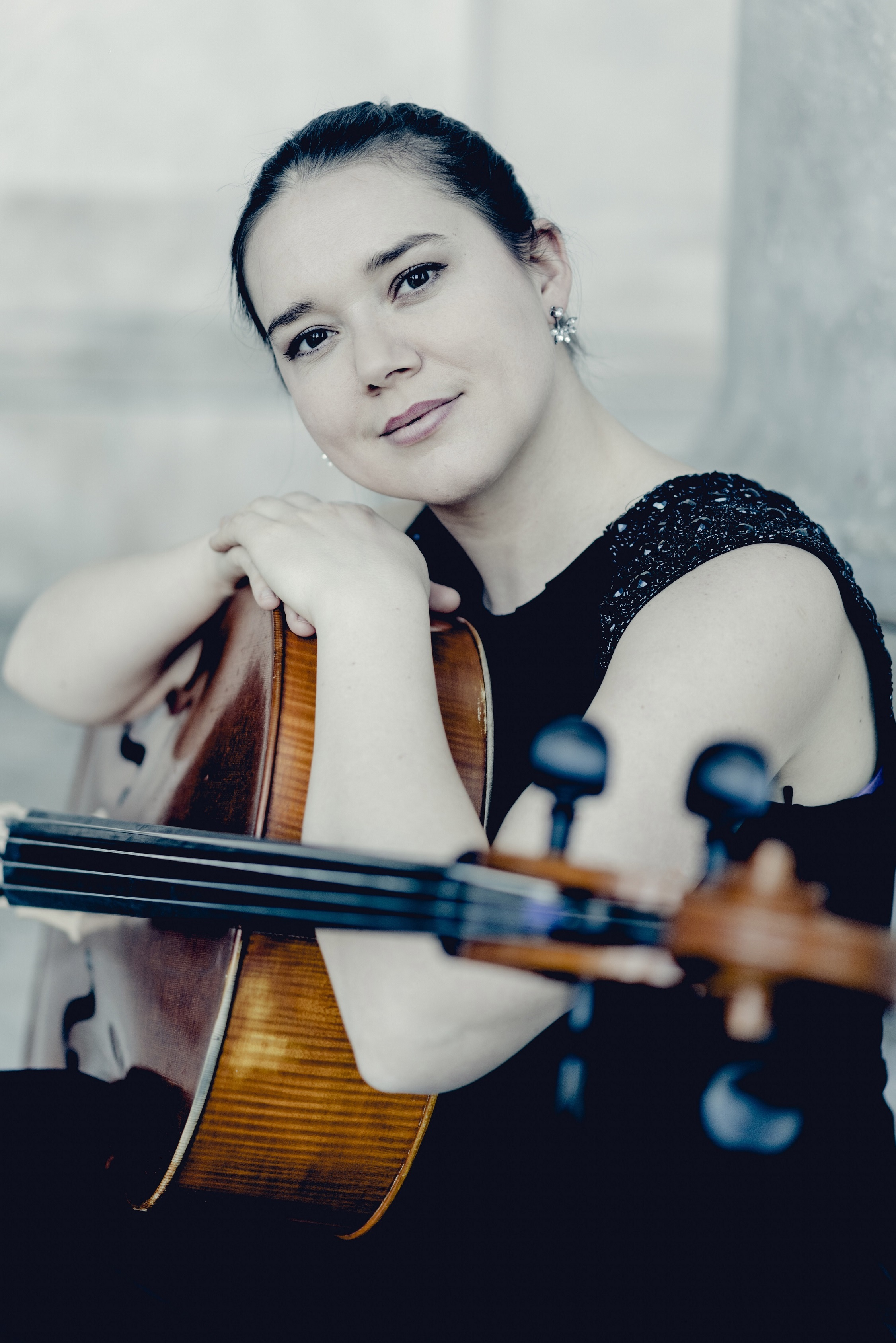 Cellist Vashti Hunter stars alongside violinist Jonian Ilias Kadesha and pianist Noam Greenberg at Askham Hall's three-day chamber music weekend, running from February 22-24