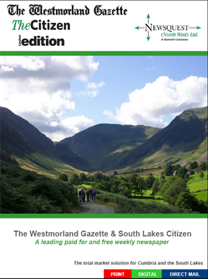 The Westmorland Gazette: WG-front