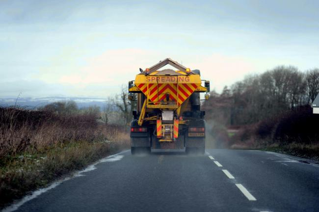 Forecasting and planning ahead for counties gritters.