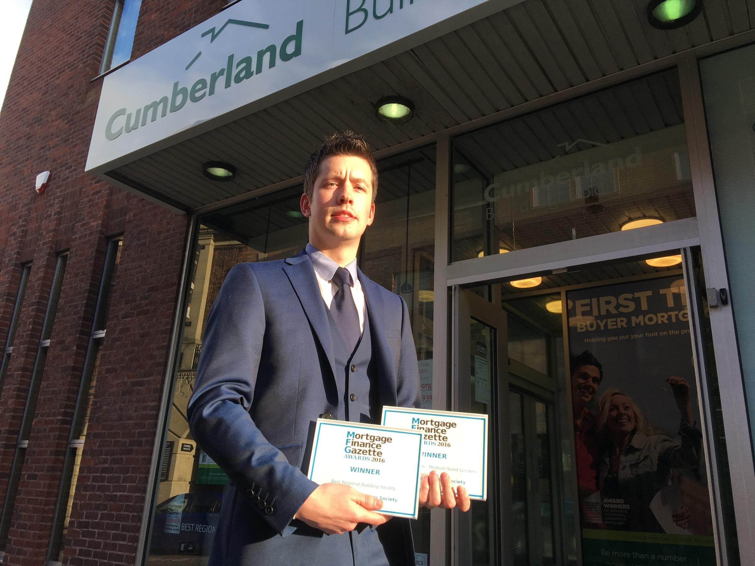 David Stewart from The Cumberland building society