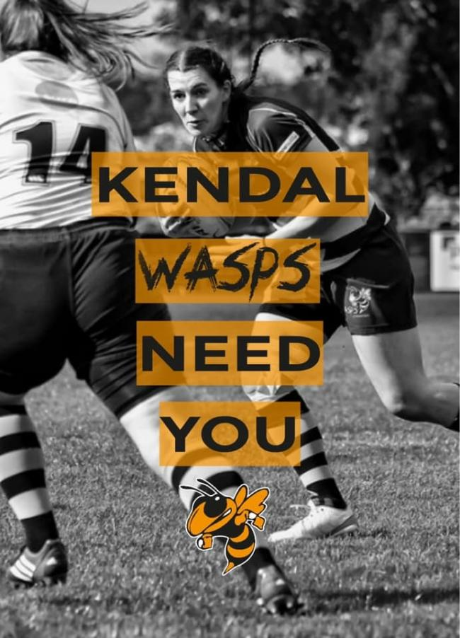 Kendal Wasps Poster