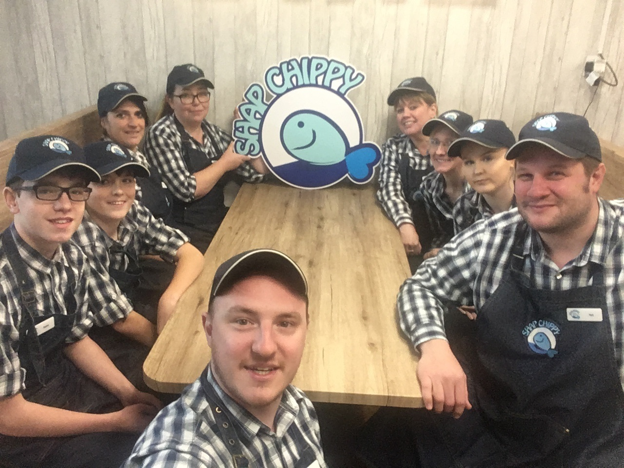The Shap Chippy team