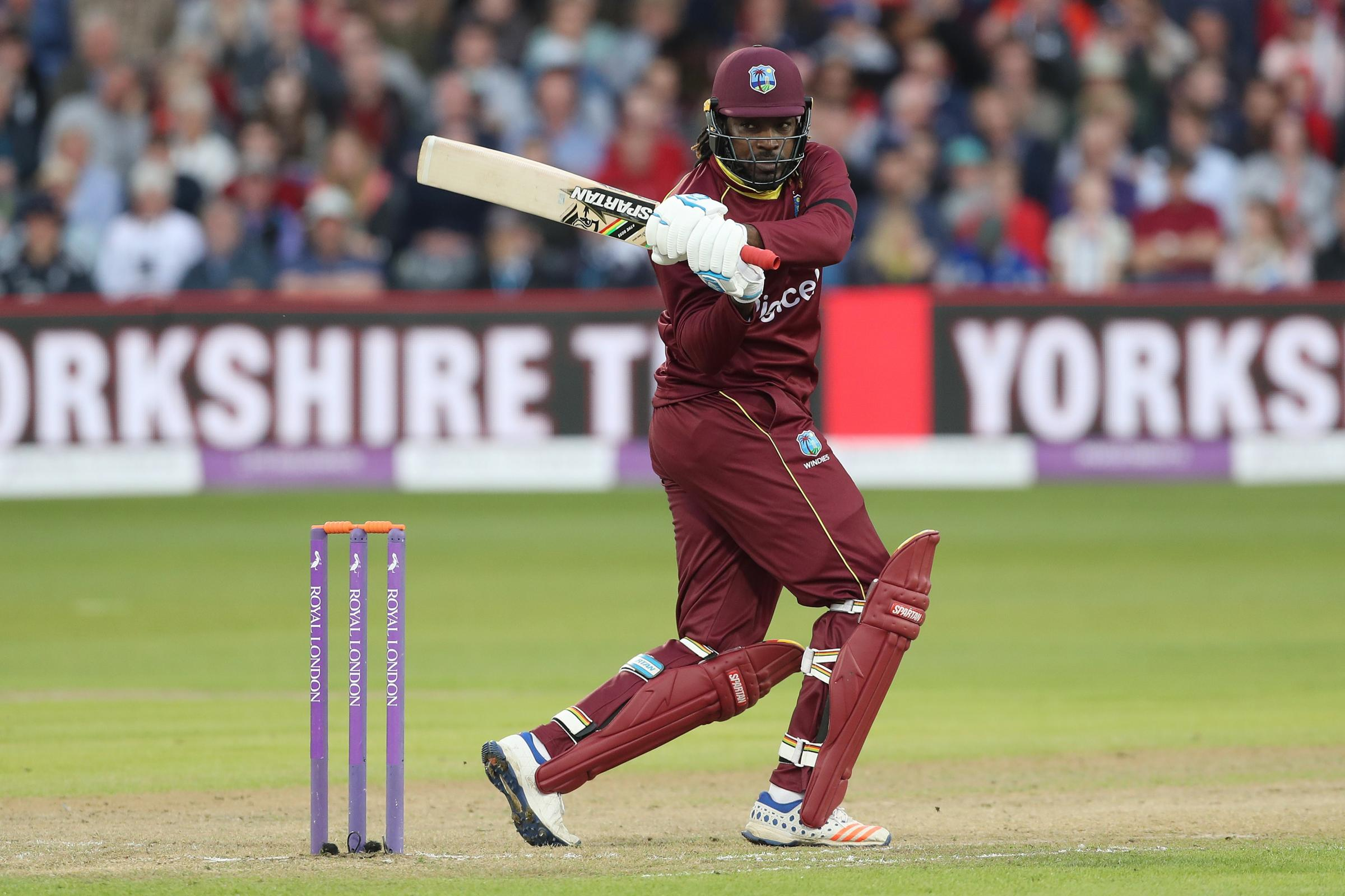 Chris Gayle has a major landmark in his sights