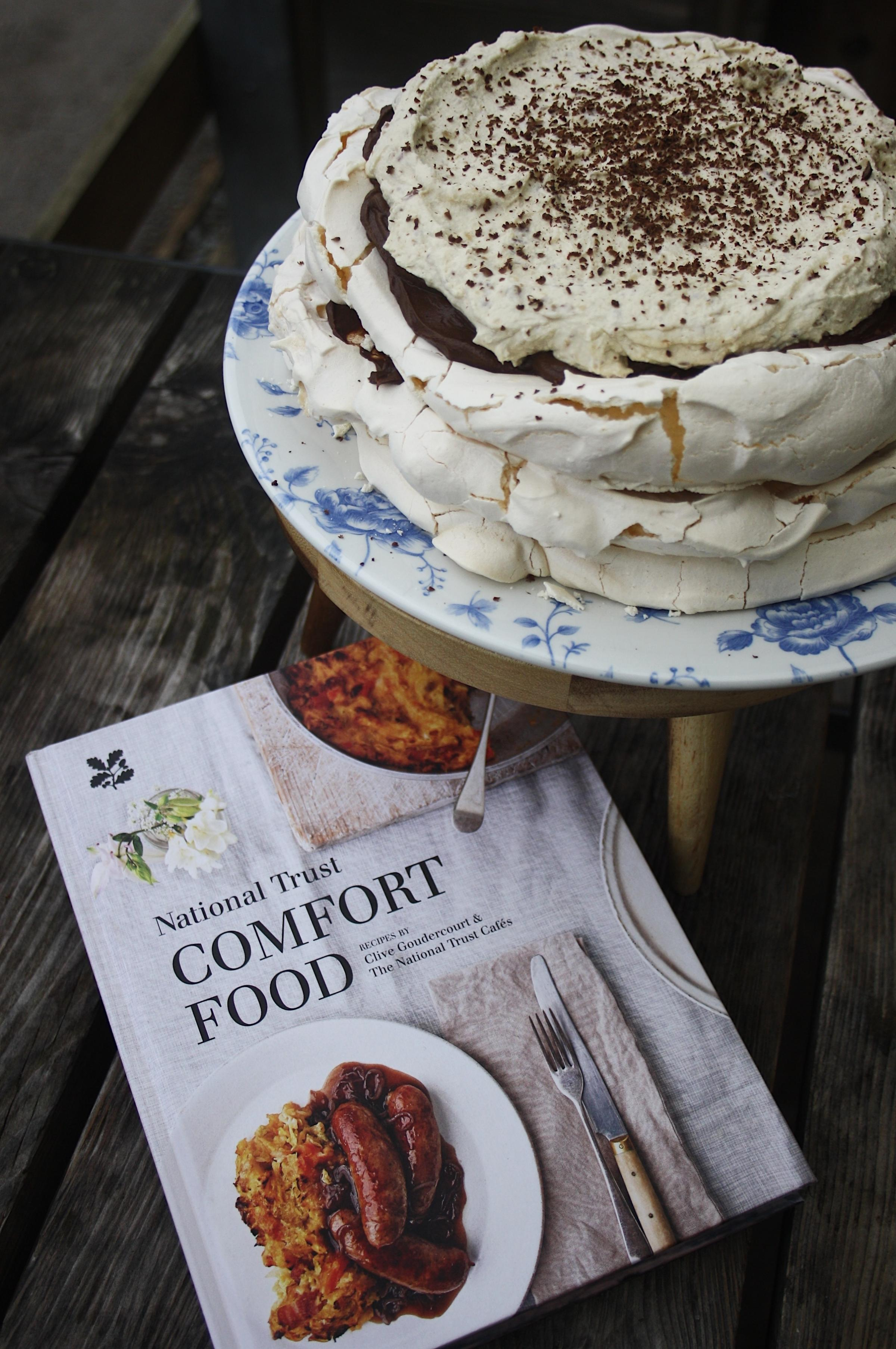 Versailles-inspired pavlova baked at Sizergh Castle cafe features in new National Trust cookbook