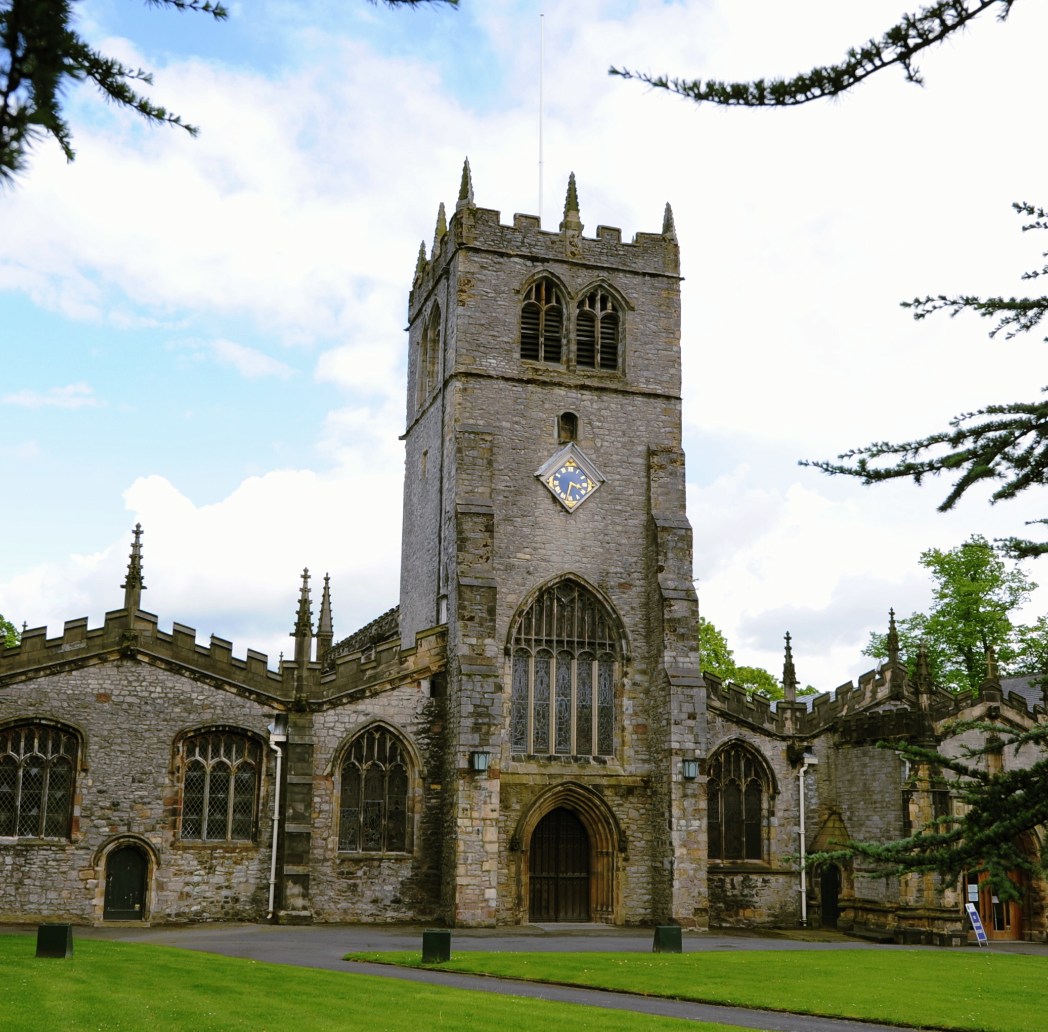 Kendal Parish Church....