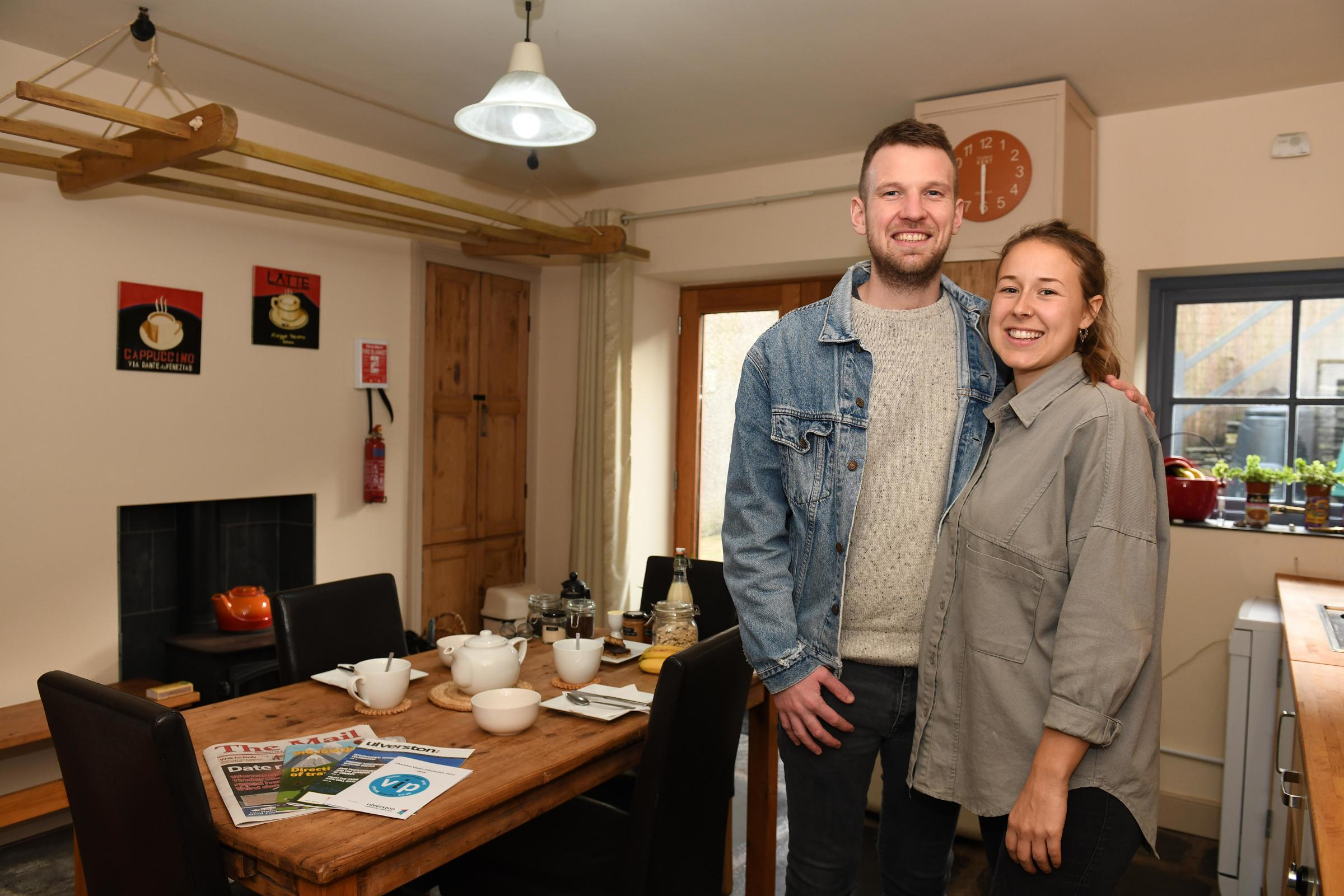 Couple open town's first strictly vegan guest house