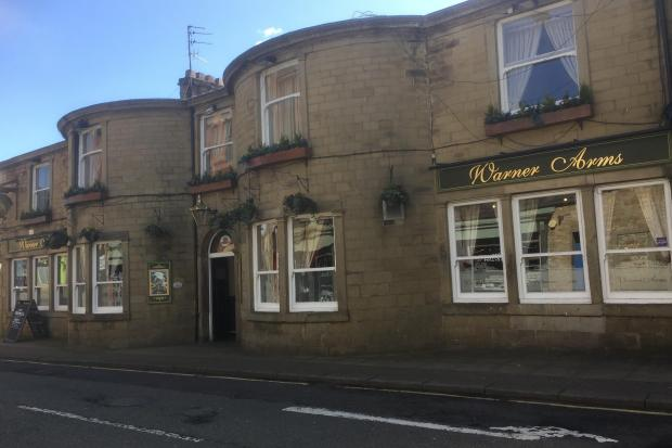 The Warner Arms in Accrington got the thumbs up from Mark Briggs