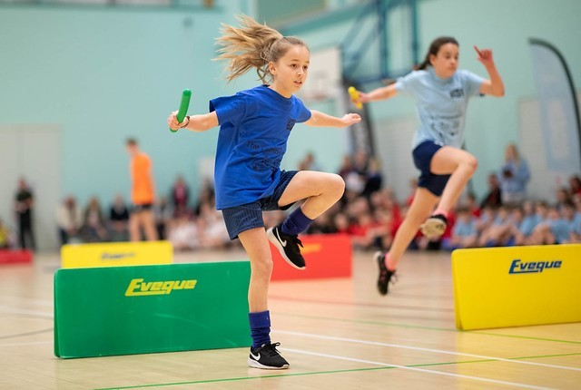 Action from the Cumbria School Games Spring Finals. Picture: Chris West