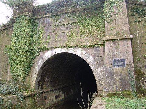 Hincaster Tunnel on the Lancaster Canal's Northern Reaches.