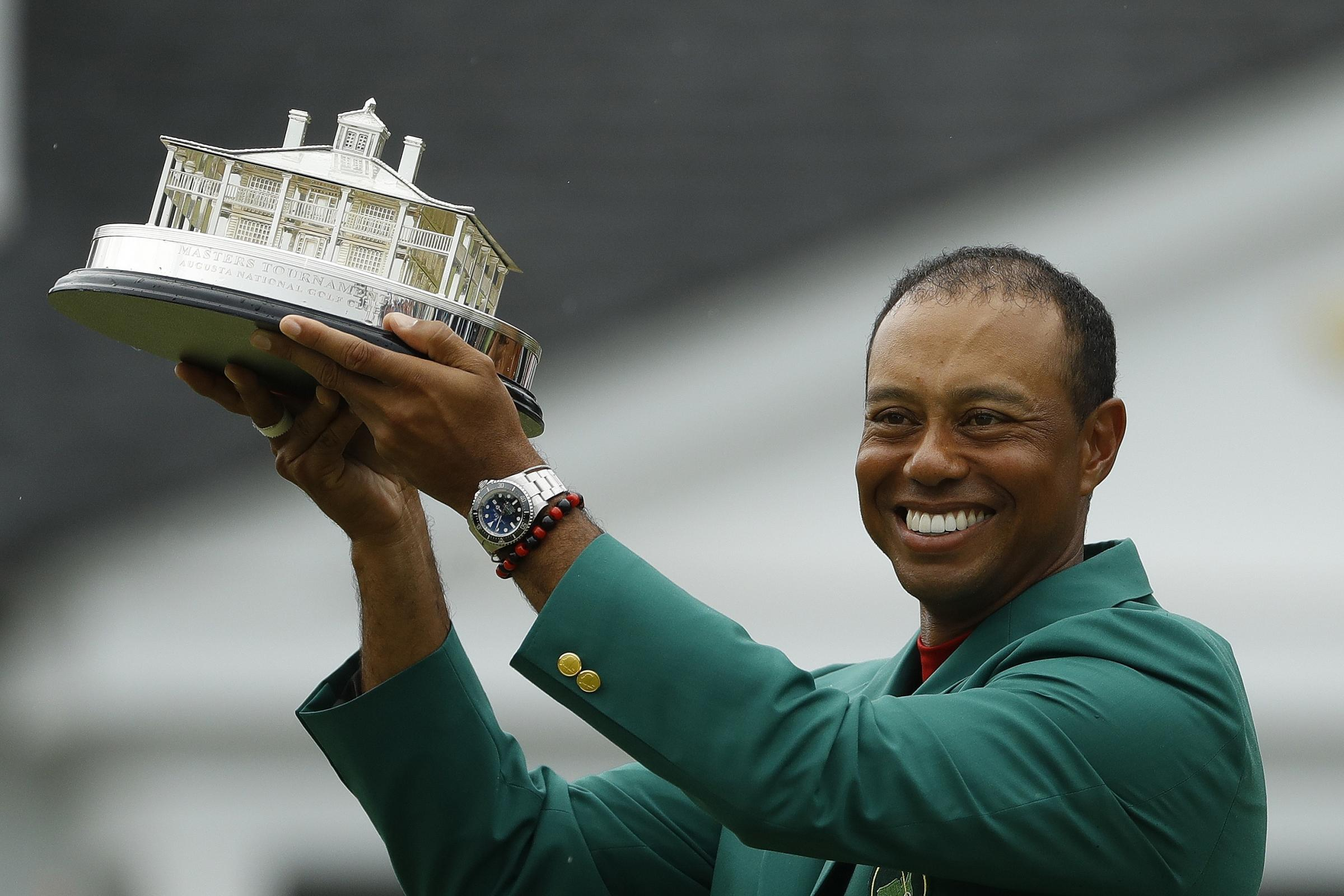 Tiger Woods sealed a thrilling Masters victory to complete one of sport's greatest comebacks