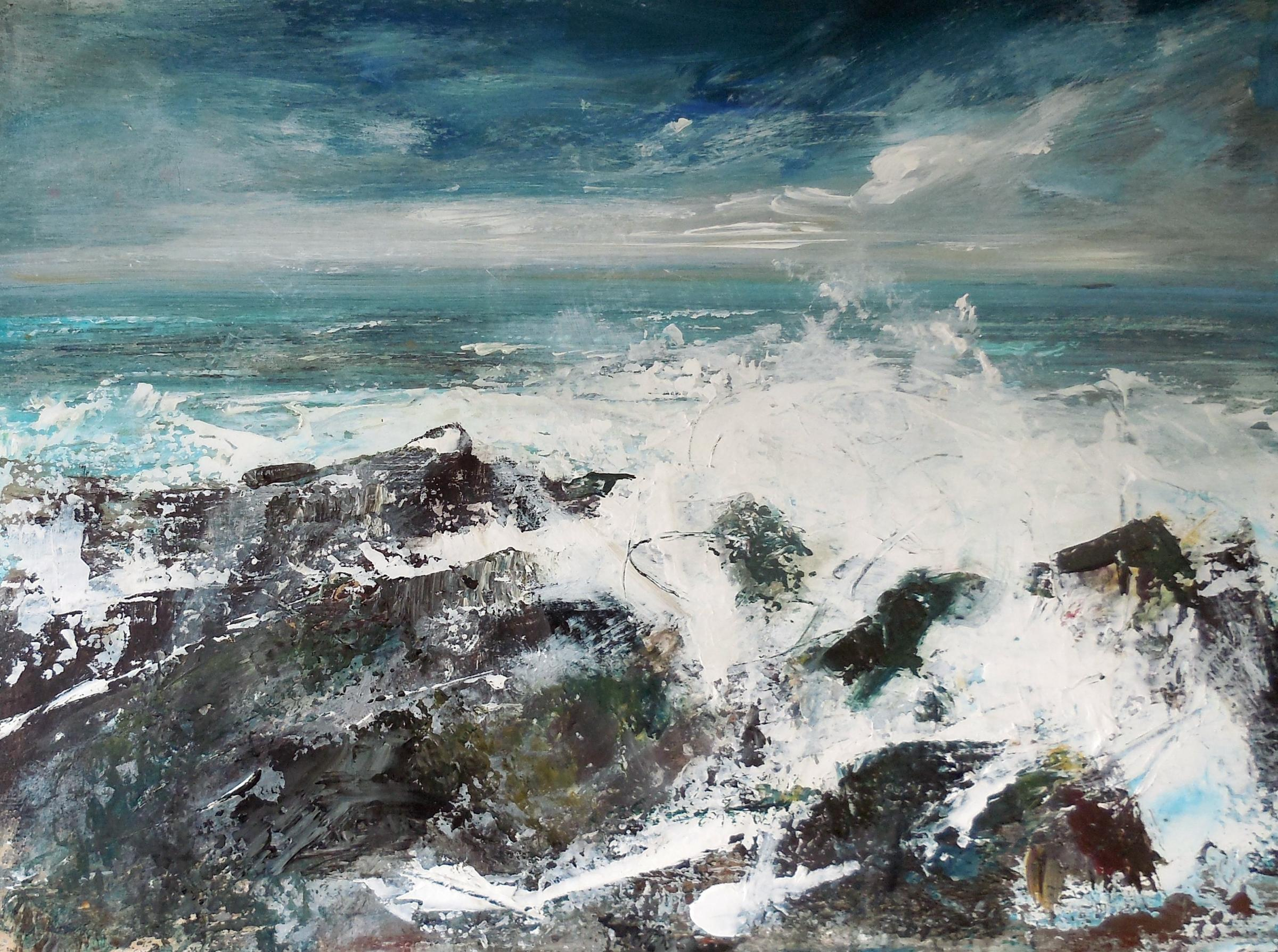 Work in new exhibition is inspired by shorelines of Scotland and western Ireland