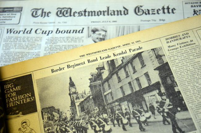 50 years ago people in the Kendal area spotted a UFO