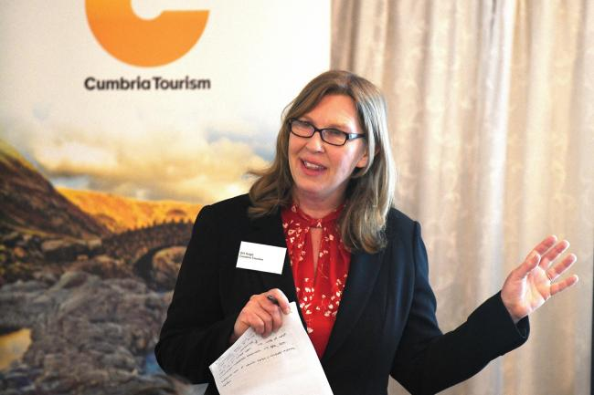 Gill Haigh, managing director of Cumbria Tourism