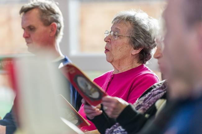 The Salvation Army in Carnforth is launching a Singing By Heart group for people with dementia and their carers