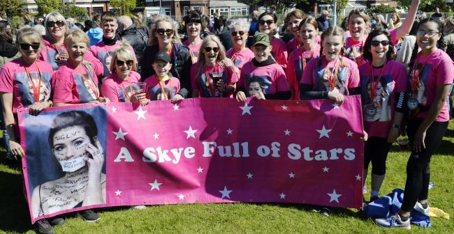 Keswick/Coniston to Barrow 2019...Pictured: Team Skye Full Of Stars...11/05/2019..JON GRANGER.