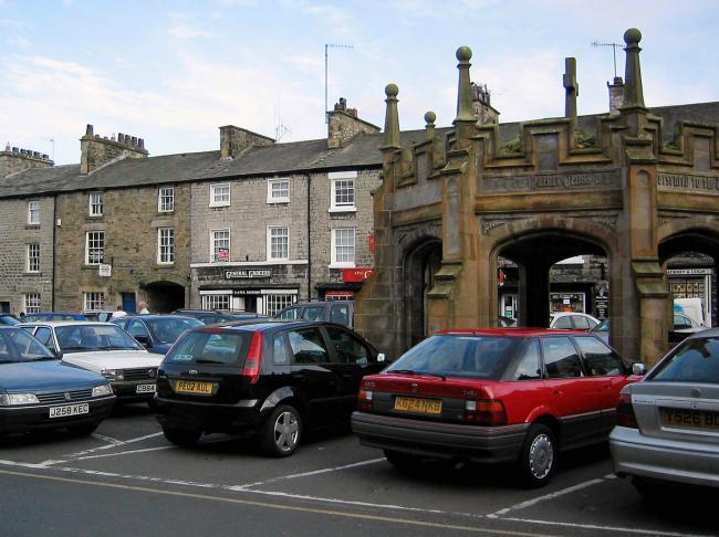 Kirkby Lonsdale's Market Square