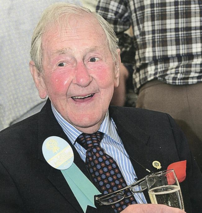 Alan Thompson, from Kendal, has died aged 97