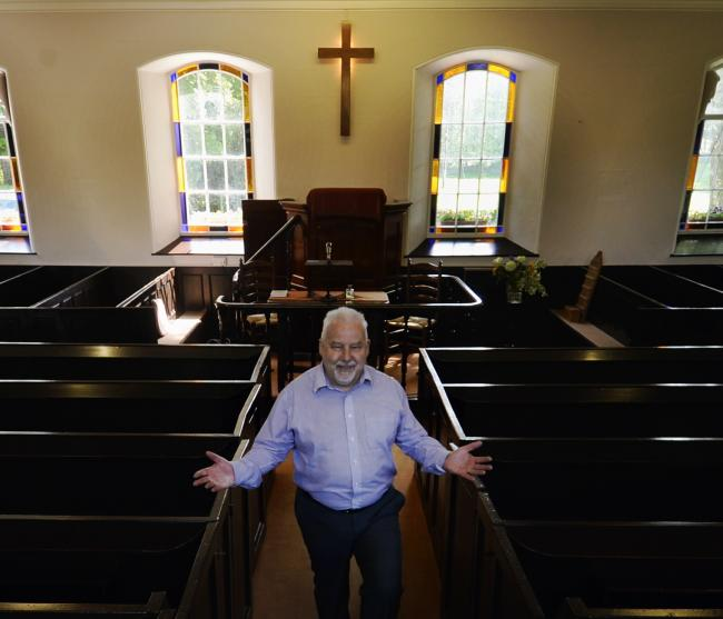 Pastor Michael Bonser of Tottlebank Baptist Church near Greenodd. Picture: JON GRANGER