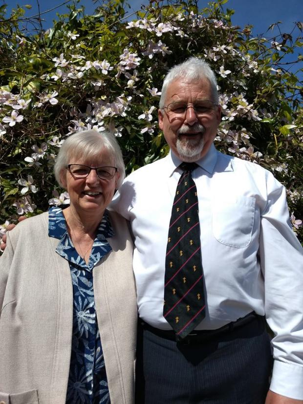The Westmorland Gazette: Paster Bonser with his wife Val