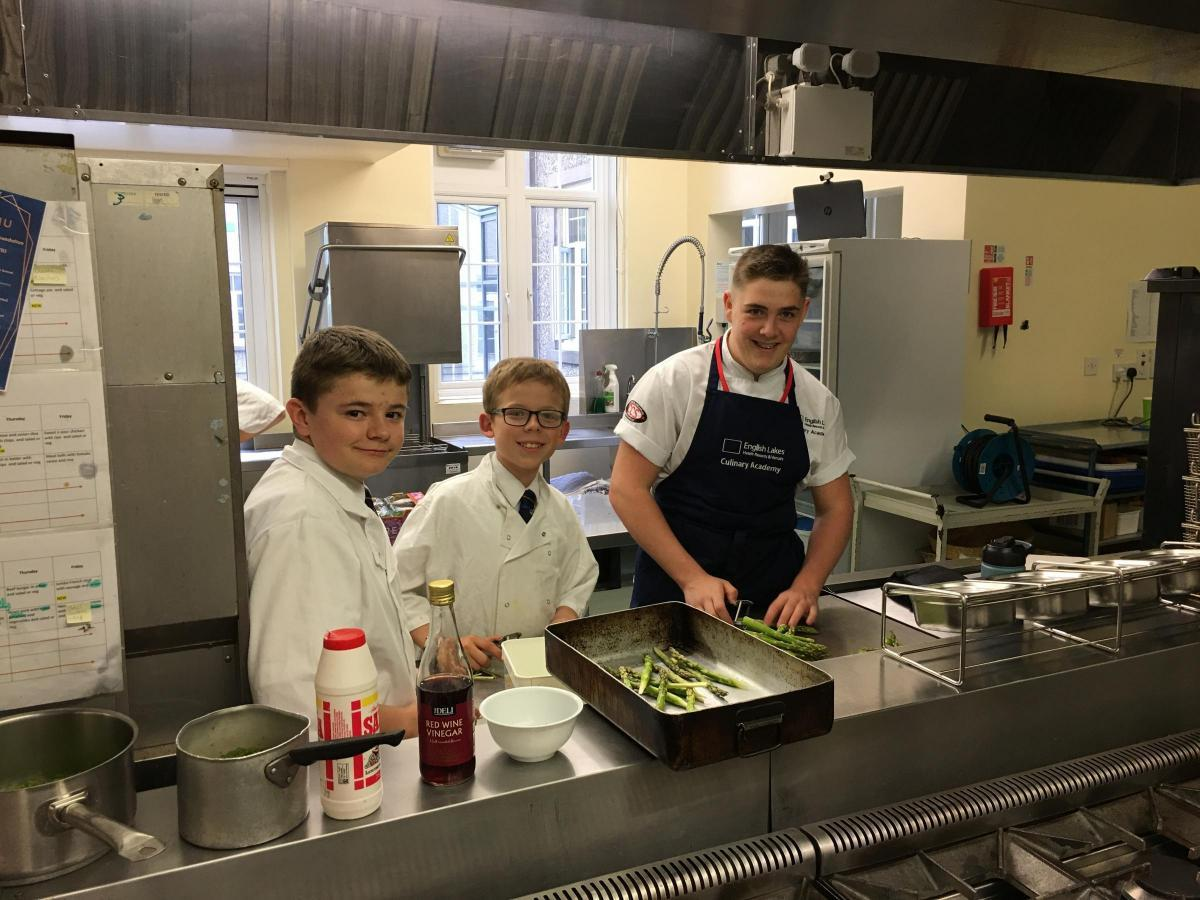 Young South Lakes chefs don whites and impress diners