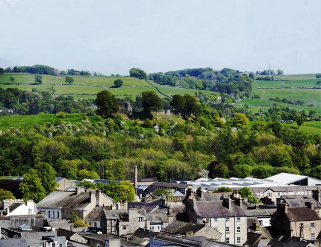 A view of Kendal from Fellside...15/05/2019..JON GRANGER.