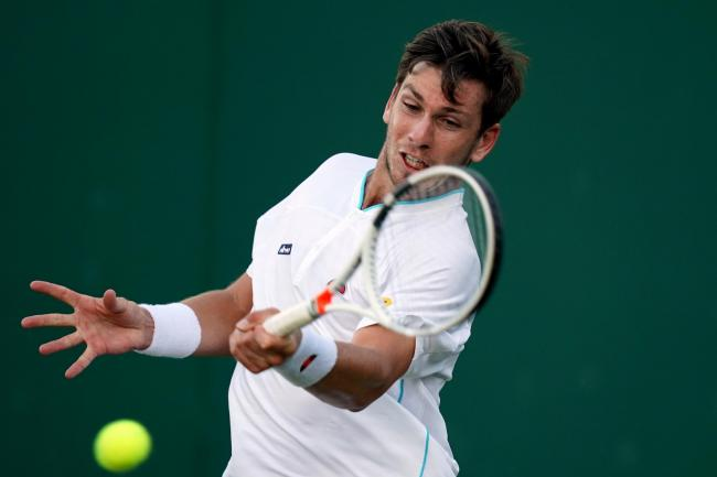 Cameron Norrie was knocked out in the first round