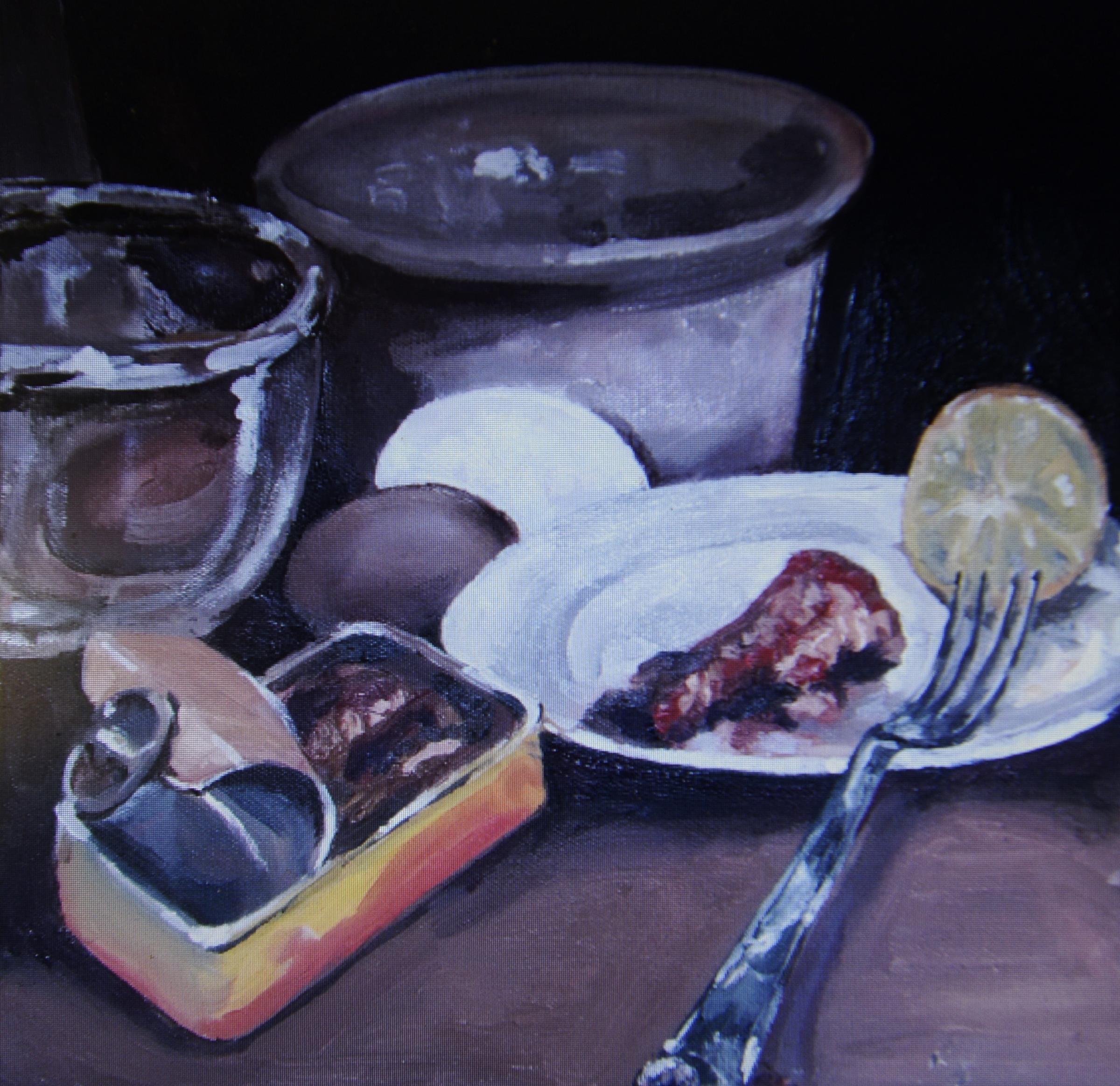 Art exhibition puts the focus on food this weekend at Kendal