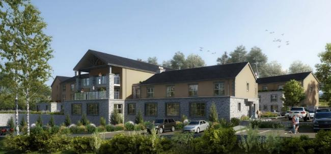 A CGI picture of the proposed care home in Carnforth (Picture: Lancaster City Council planning portal)