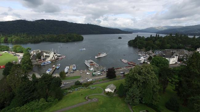 Bowness Bay, one of the honeypot areas of the Lake District