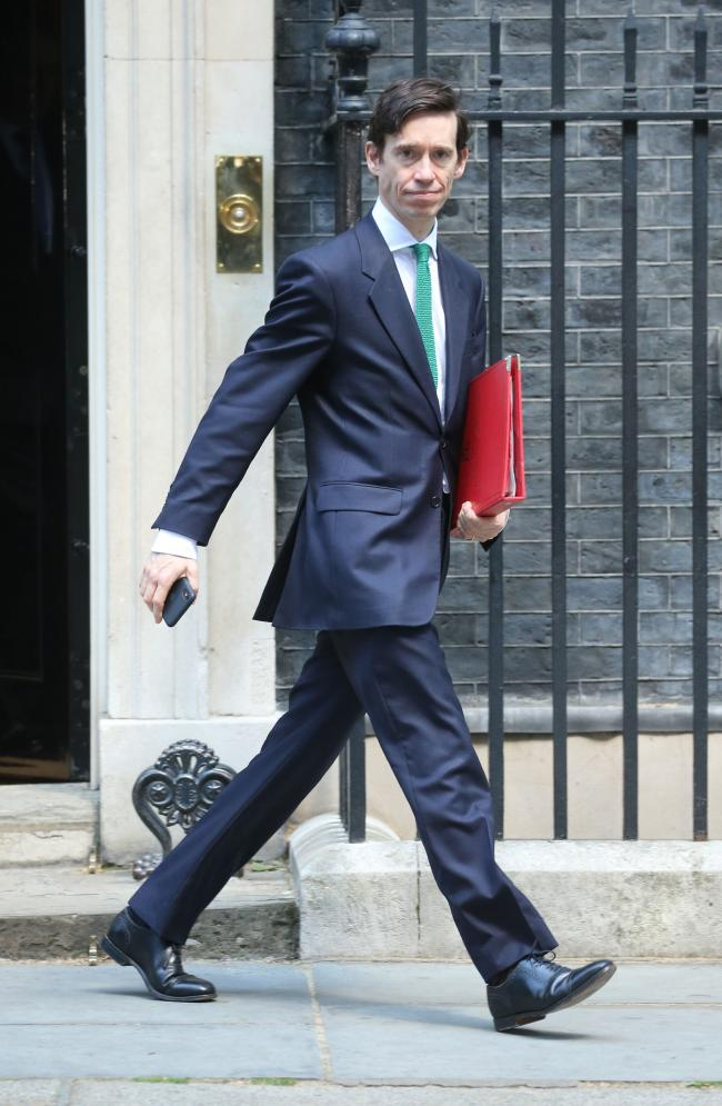 NO TO BORIS: Secretary of State for International Development Rory Stewart