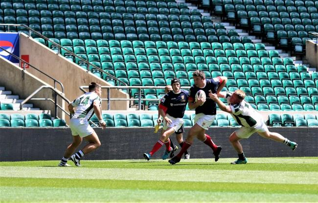 Cumbria Seniors in action (Photography: David Nattrass)
